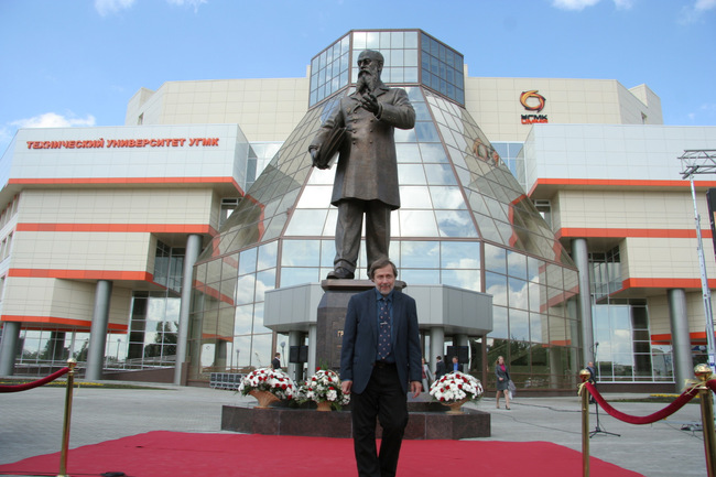 Правнук Владимира Грум-Гржимайло Алексей Николаевич Грум-Гржимайло