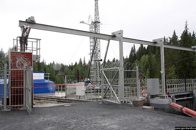Новая ГЭС в Рюмякоски