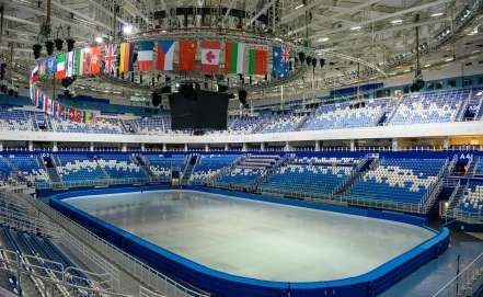 Даже летом все ледовые дворцы Олимпийского парка Сочи полноcтью готовы к проведению соревнований
