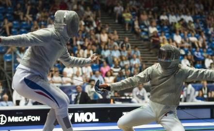 Сборная России вышла в финал ЧМ по фехтованию в соревнованиях саблистов