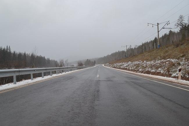 Отремонтированный участок трассы. Фото пресс-службы компании