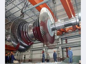 Два силовых блочных трансформатора(мощностью по 200 МВА)и 1 пуско-резервный...