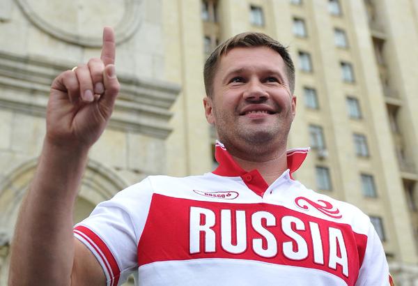 Алексей Немов понесет факел