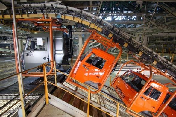 Фото конвейера камаз фольксваген транспортер битые