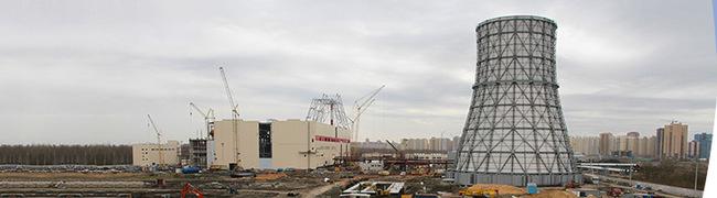 Строительство Юго-Западной ТЭЦ в Санкт-Петербурге