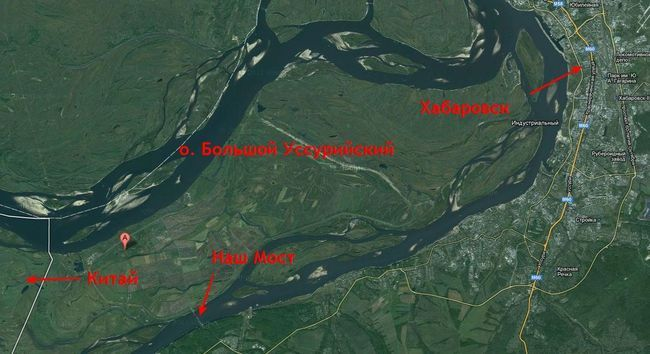 Мост в китай через амурскую протоку