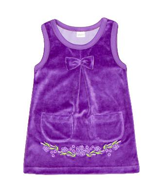 детская одежда из велюра, сарафан
