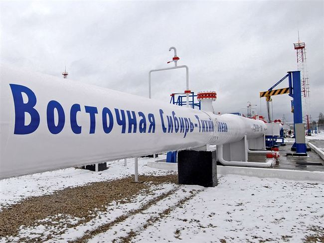 В нефтепровод Восточная Сибирь