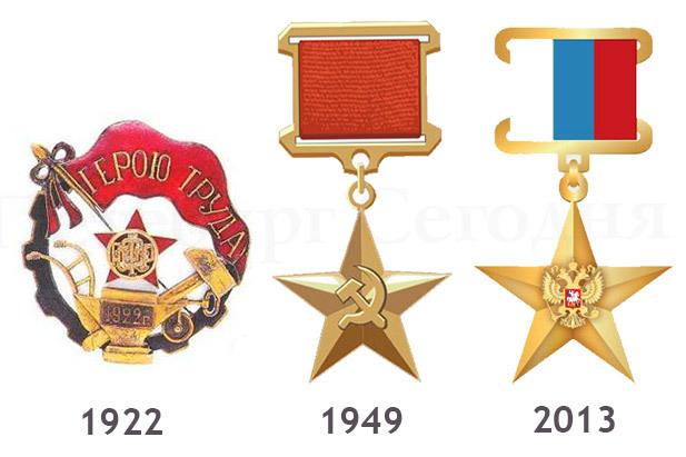 Картинки по запросу звание герои труда с какого года