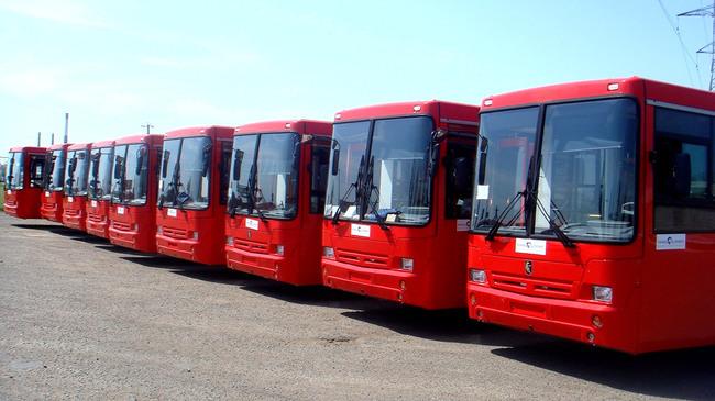 Закупка новых автобусов была произведена в рамках программы обновления автопарка Казани к предстоящей Универсиаде-2013.