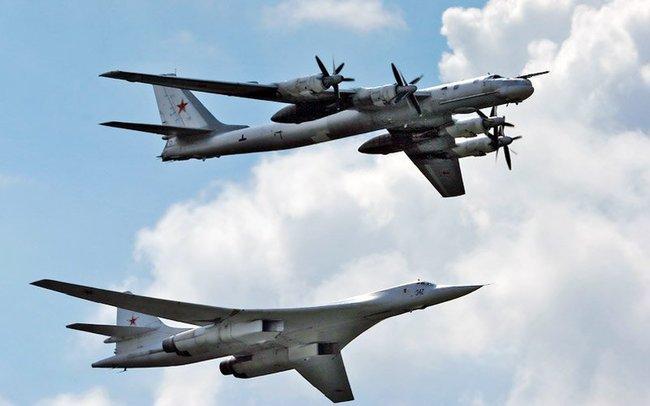 Ту-160 и Ту-95