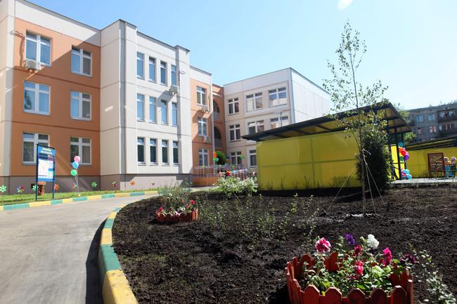 новый детский сад в мкрн. Перово