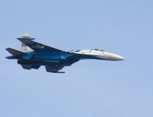 «Русские витязи» показали волгоградцам фигуры высшего пилотажа
