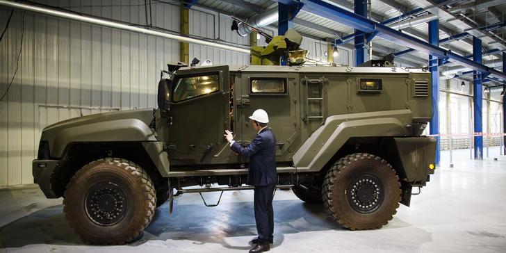 Уралвагонзавод стабилизировал боевой модуль для бронемашин