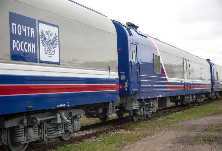 Почтовые вагоны нового поколения поступили в Тюмень