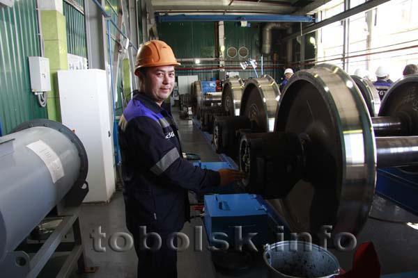 Восстановлен главный корпус ремонтно-испытательного пункта в Тобольском филиале АО «СГ-Транс»