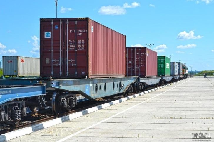 ОАО «РЖД» за 10 месяцев 2017 года перевезло больше контейнерных грузов, чем за весь прошлый год