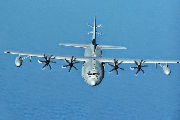 Специализированный самолет РЭБ EC-130H Compass Call ВВС США