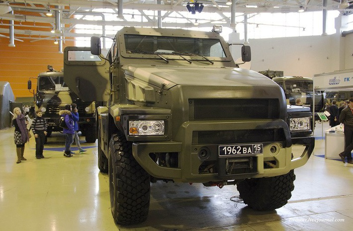 Представлен бронеавтомобиль «Патруль»