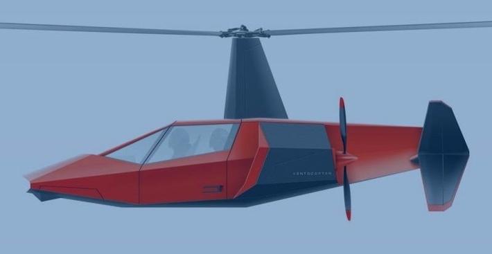 Летательный аппарат Ventocopter А1 могут оснастить санитарным модулем