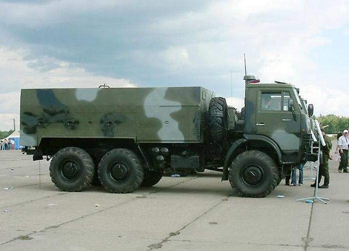 Подразделения РХБЗ в Приамурье получили дымовые машины ТДА-2К