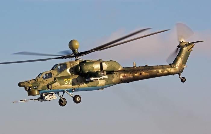 Армейская авиация ЮВО пополнилась новейшими Ми-28УБ