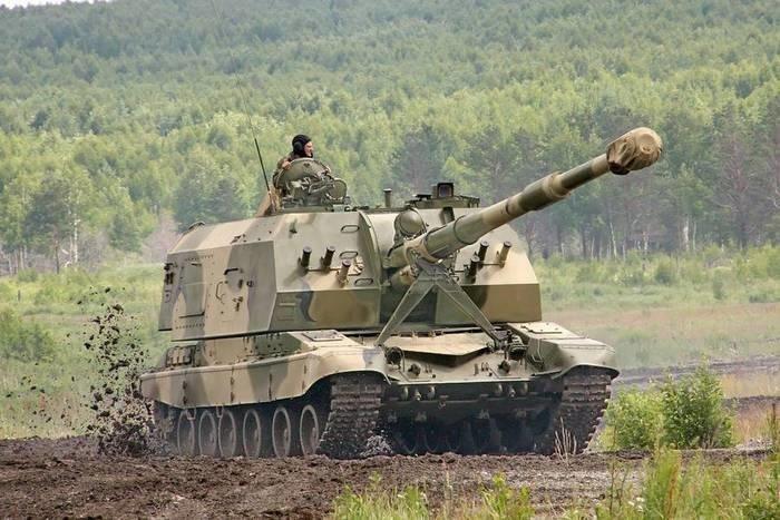 В ЗВО поступили модернизированные самоходные артиллерийские установки «Мста-СМ»