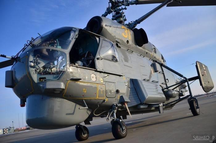 Авиация ВМФ России до 2020 года получит около 50 модернизированных вертолетов Ка-27