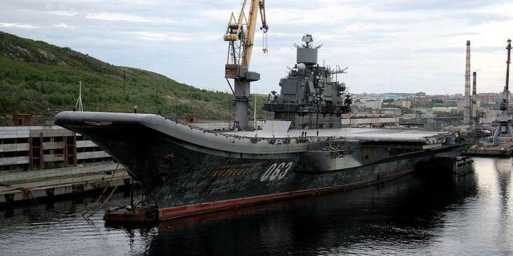 """Госконтракт подписан. """"Адмирал Кузнецов"""" встал на ремонт"""