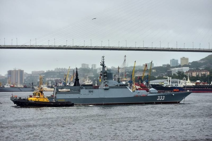 Корвет «Совершенный» проекта 20380 Тихоокеанского флота