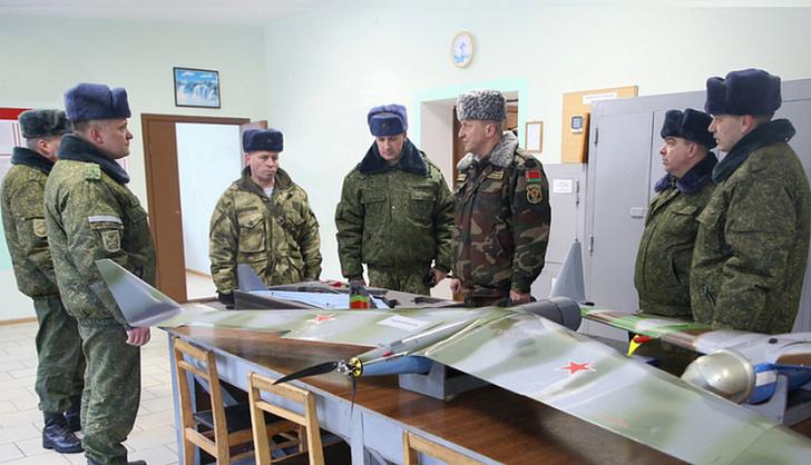 ВС Белоруссии получили российский комплекс беспилотной авиации