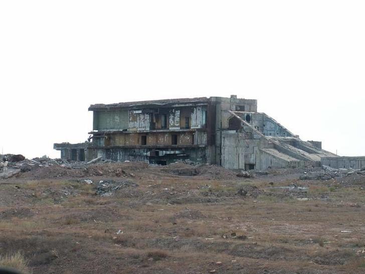 """Заброшенный комплекс """"Терра-3"""", 2008 г."""