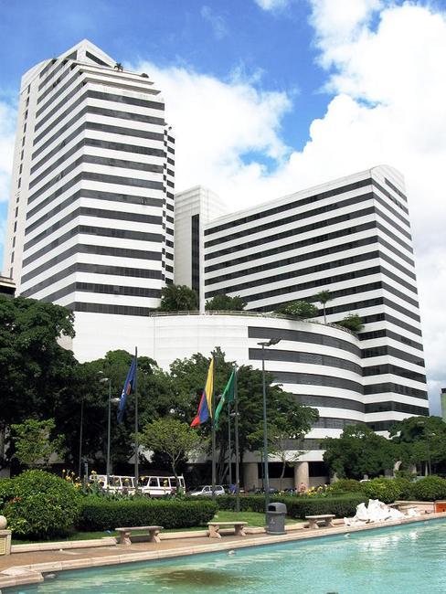 Небоскребы в Каракасе
