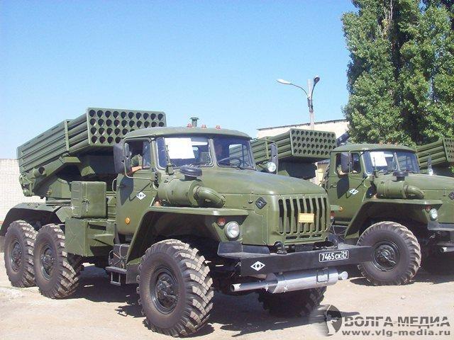 """РСЗО 9К51М """"Торнадо-Г"""" (с) Волга-Медиа / vlg-media.ru"""