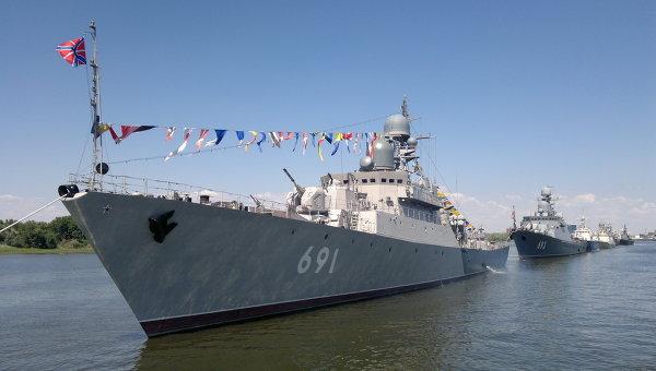 Военные Каспийской флотилии были подняты по тревоге в рамках проверки