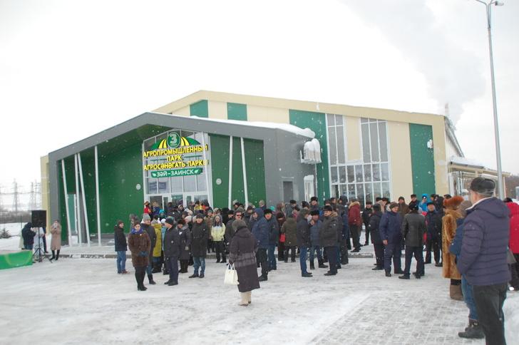 В Татарстане открылись агропромышленный парк и цех по ремонту сельхозтехники