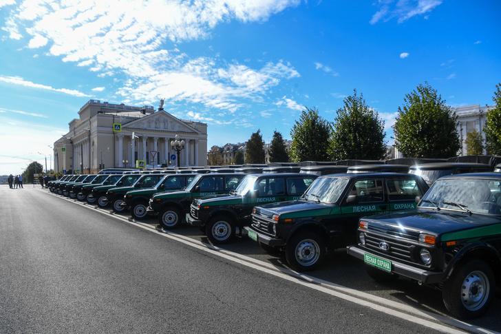 Работникам лесного хозяйства Татарстана переданы 64 автомобиля