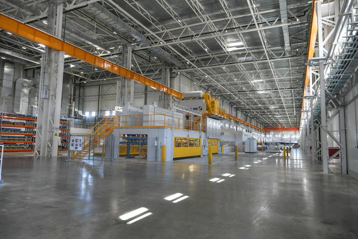 Новый металлоцентр для автомобильной промышленности открыт в Татарстане