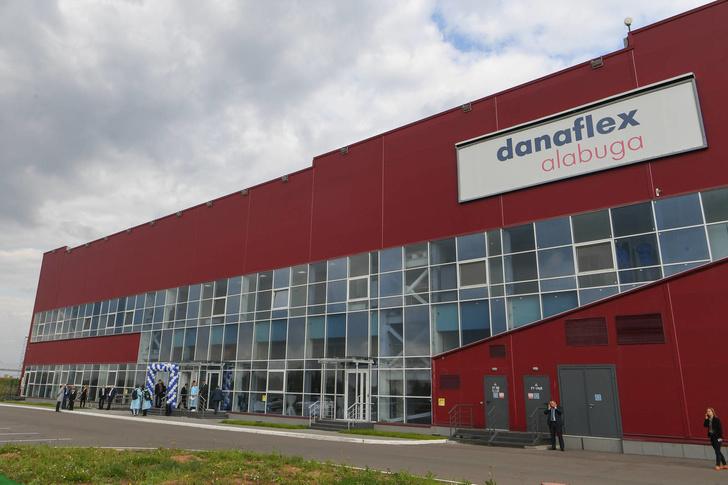В ОЭЗ «Алабуга» запущен новый завод по производству гибких упаковочных материалов ГК «Данафлекс»