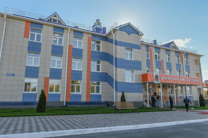В селе Песчаные Ковали Татарстана открыта новая врачебная амбулатория