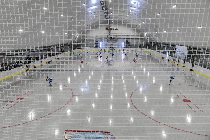 В Казани открыта новая ледовая арена