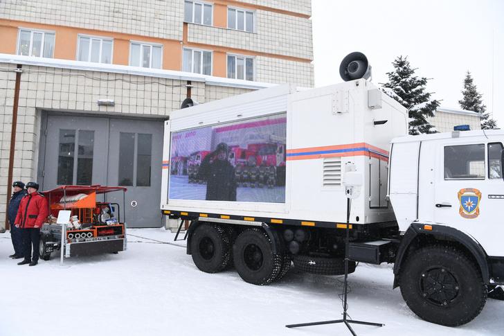 Российские спасатели получили новую спецтехнику. Обзор