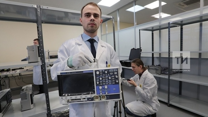 На площадке ОЭЗ «Иннополис» в Татарстане запущено производство осциллографов