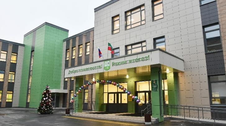 Новый корпус лицея на 800 учеников открыт в татарском селе Осиново
