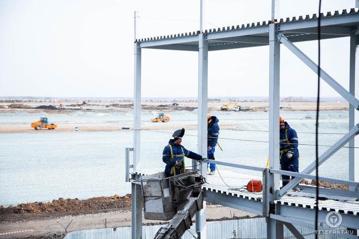 В новом челябинском аэропорту появятся четыре телетрапа