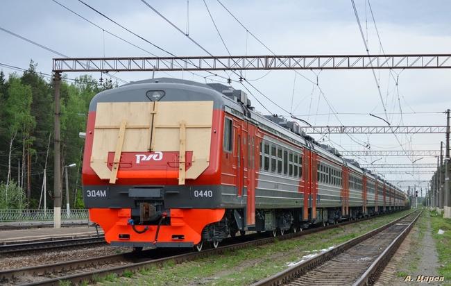 ЭД4М-0440, Построен: 04.2013