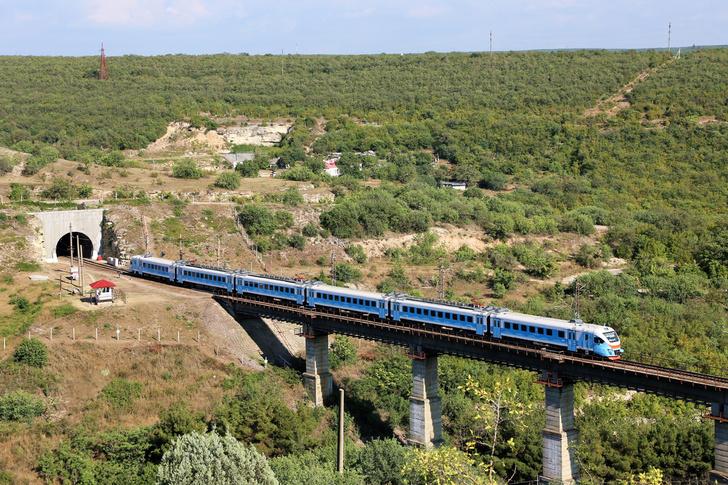 Севастополь. перегон Инкерман-II — Мекензиевы Горы.30 июля 2020 г