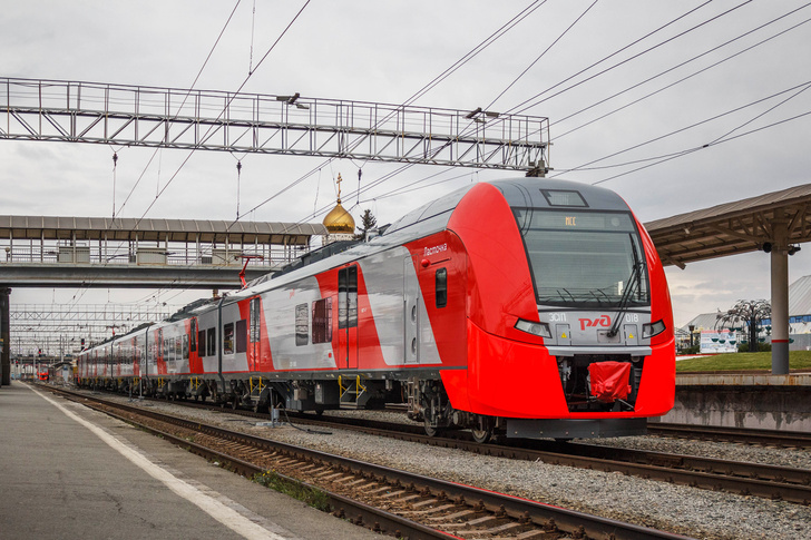 Новый состав ЭС1П-018 выпуска 2020 года в Челябинске