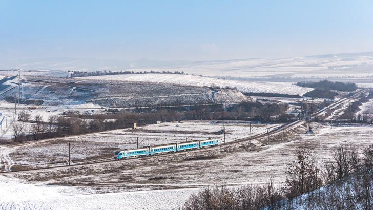Крым, перегон Сирень — Верхнесадовая 19 января 2021 г