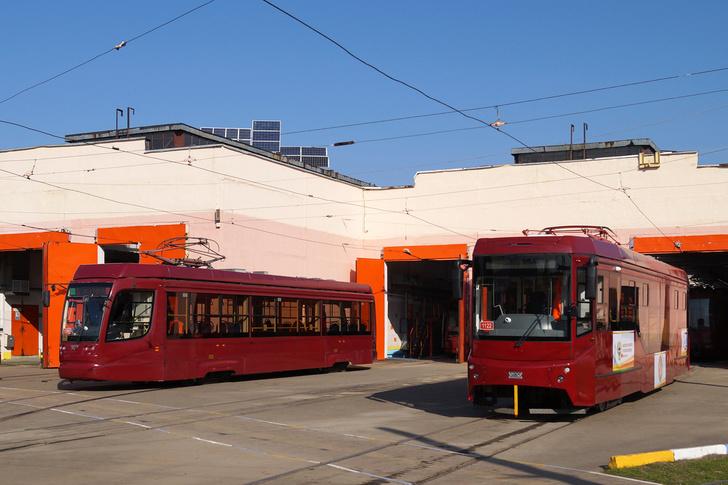 В Казань в 2019 году поставлены трамваи модели 71-407-01 завода УралТрансМаш